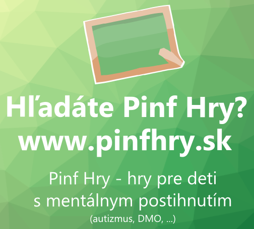 Pinf Hry - Games for children with special needs